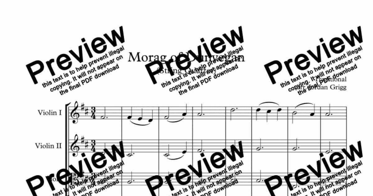 string quartet pop music pdf