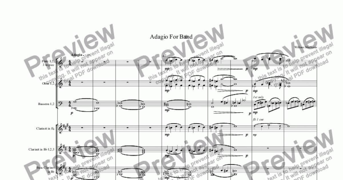 adagio for strings piano pdf