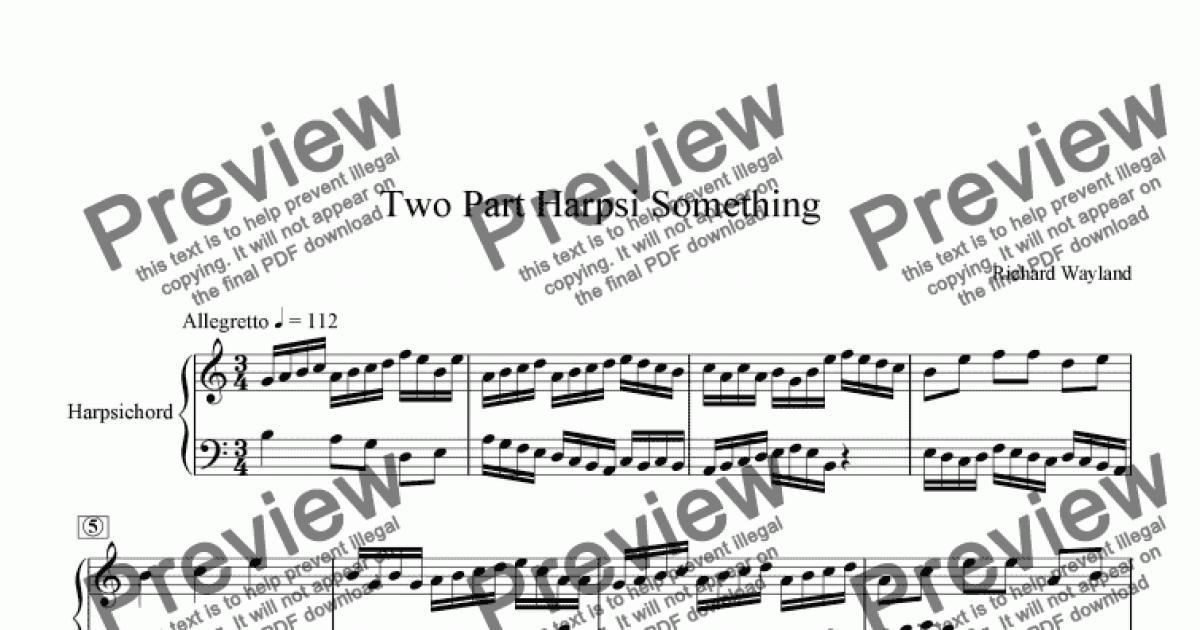 something rotter musical score pdf