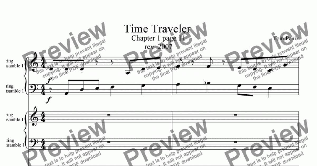 Time Traveler - Download Sheet Music PDF file