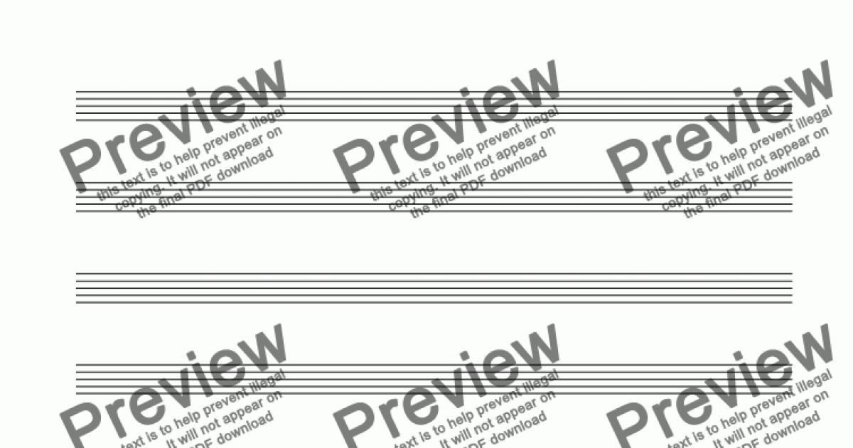 12 stave manuscript paper pdf