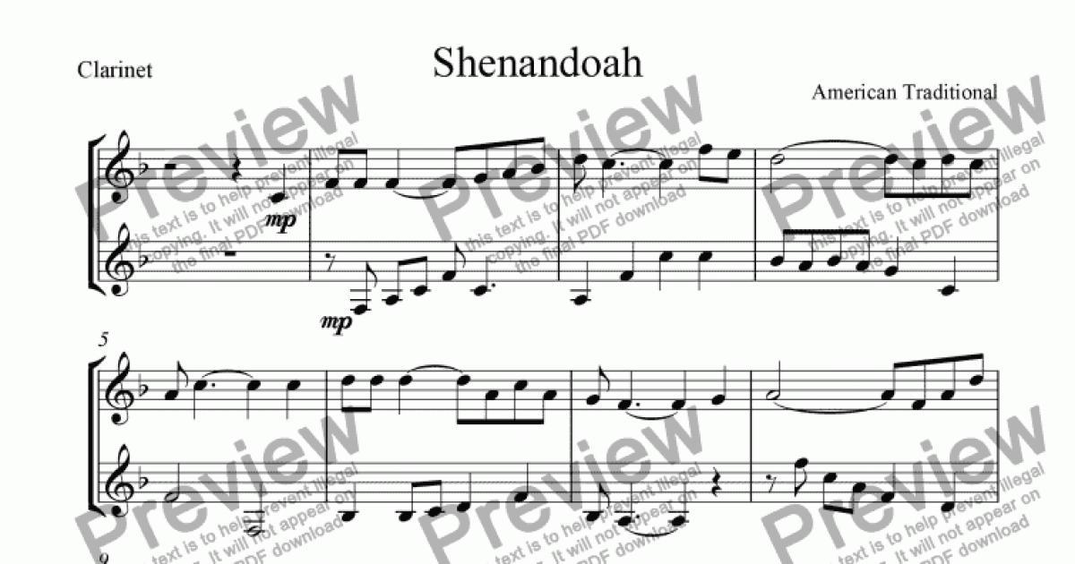 Oh Shenandoah Sheet Music Music Books & Scores At Sheet Music Plus