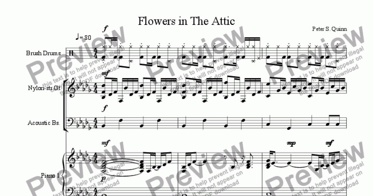 Flowers In The Attic Download Sheet Music Pdf File