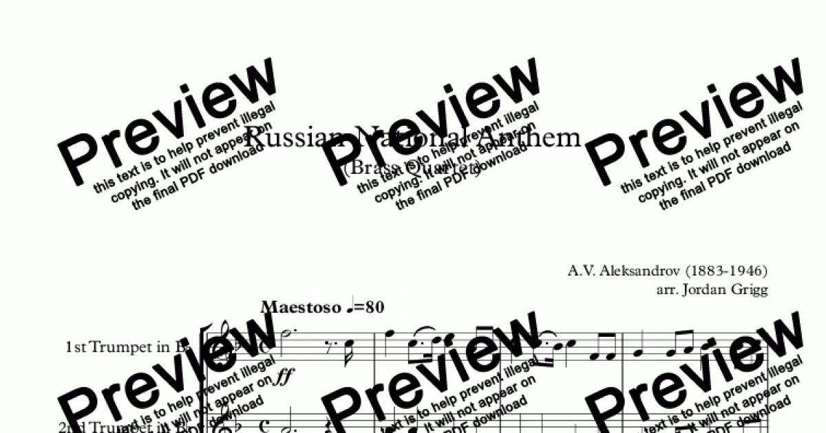 Download Russia National Anthem Traditional Production ...