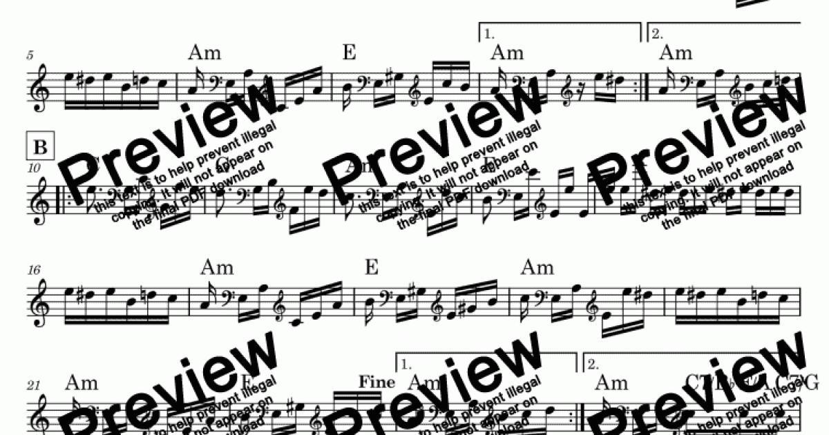 Beethoven Fur Elise La Lettre à élise エリーゼのために к элизе 엘리제를 위하여 致愛麗絲 Bagatelle No 25 In A Minor Pdf Lead Sheet Melody Chords For