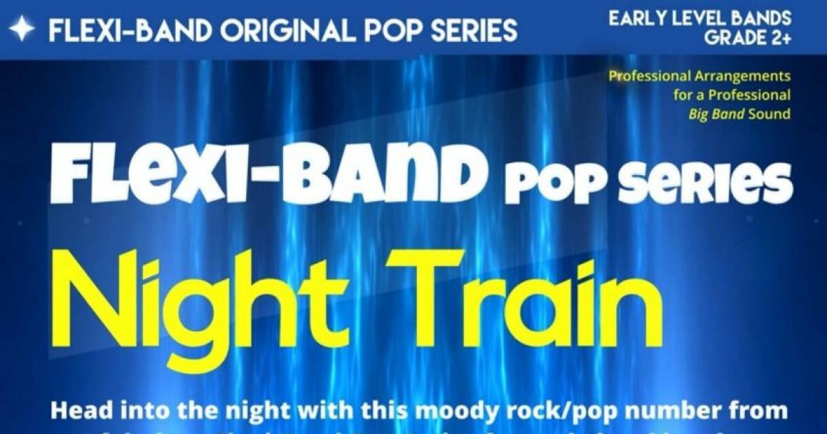 Night Train Flexi Band Score Parts Download Pdf File