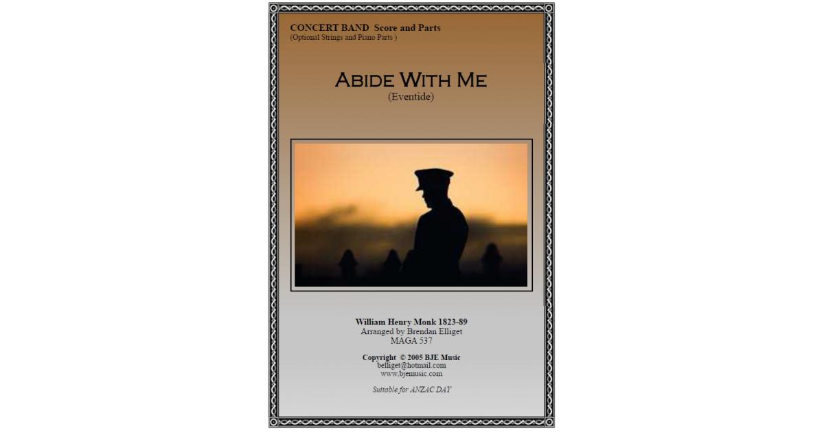 Glockenspiel Part From Abide With Me Eventide Concert Band With