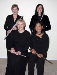 Cover art for Flute 1 part from Amazing Grace Goes Latin! (Flute Quartet)