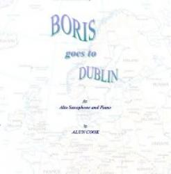 Cover art for Alto Saxophone part from Boris goes to Dublin - (Alto Saxophone and Piano)