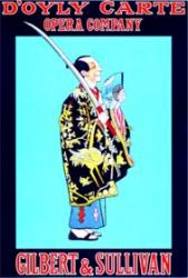 Cover art for Bassoon part from The Mikado Overture