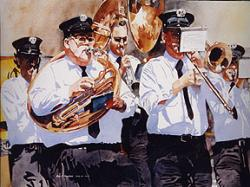 Cover art for Tenor part from American Patrol - sax quintet