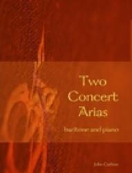 Cover art for Two Concert Arias