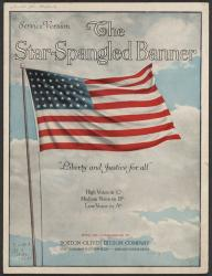 Cover art for Horns in F part from The Star Spangled Banner