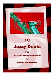 Cover art for 10 Jazz Duets for Alto and Tenor Saxophone