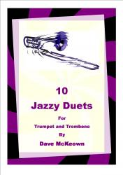 Cover art for 10 Jazz Duets for Trumpet and Trombone