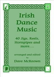 Cover art for Traditional Dance Music of Ireland Vol.1. for Violin 40 Jigs, Reels and more