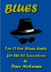 Cover art for 10 Blues Duets for Alto Saxophone