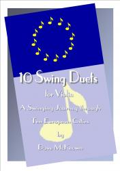 Cover art for 10 Swing Duets for Violin