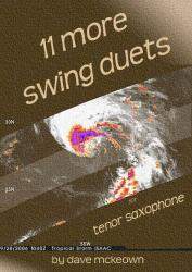 Cover art for 11 More Swing Duets for Tenor Saxophone