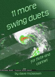 Cover art for 11 More Swing Duets for Flute and Clarinet