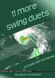 Cover art for 11 More Swing Duets for Trumpet and Trombone
