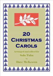 Cover art for 20 Favourite Christmas Carols for solo Tuba and Piano