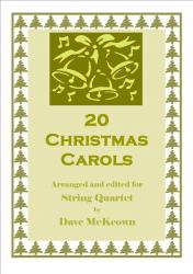 Cover art for Violin 2 part from  20 Favourite Christmas Carols for String Quartet