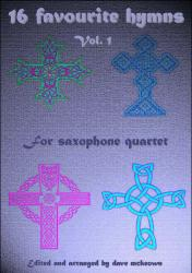 Cover art for Baritone Saxophone 4 part from  16 Favourite Hymns Vol.1 for Saxophone Quartet