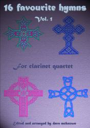 Cover art for Clarinet 2 part from  16 Favourite Hymns Vol.1 for Clarinet Quartet
