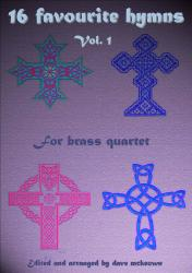 Cover art for Trombone 3 part from  16 Favourite Hymns Vol.1 for Brass Quartet
