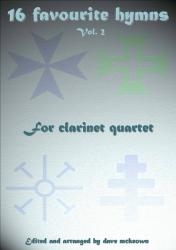 Cover art for Eb Alto Clarinet 3 part from  16 Favourite Hymns Vol.2 for Clarinet Quartet