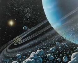 Cover art for Bass part from Uranus from The Planets (Saxophone Choir)