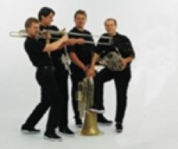 Cover art for Tuba part from Five-note Disco! (Brass Quintet)