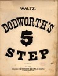 Cover art for Bassoon part from Dodworth's Five Step Waltz