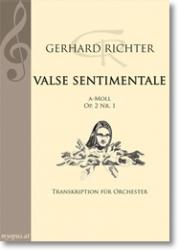 Cover art for Trompeten in C I II und B part from ► Valse sentimentale a-minor (op. 2 No. 1, Orch.)