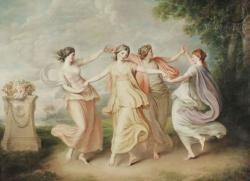 Cover art for Flute part from Dance of the Morning Nymphs
