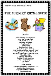 Cover art for String Bass part from The Nursery Rhyme Suite - Concert Band