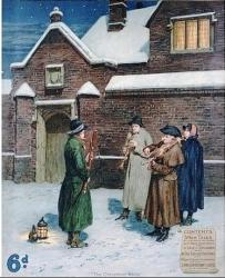 Cover art for Clarinet in Bb part from Christmas Carols from Poland for Wind Quintet