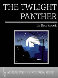 Cover art for STRING BASS part from The Twilight Panther