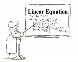 Cover art for Cabasa part from Linear Equation
