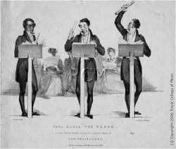 Cover art for Flute part from Weber: German Dance no 3 in C minor for four flutes
