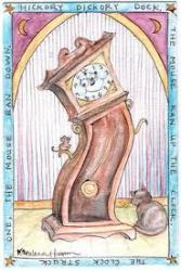 Cover art for [treble staff] part from THE MOUSE AND THE CLOCK