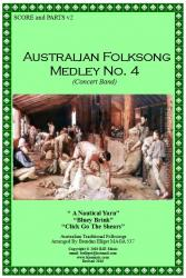Cover art for 1st Horn in E^b part from Australian Folksong Medley No. 4 - Concert Band