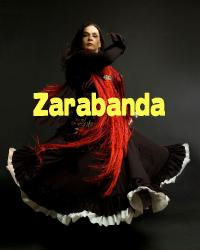Cover art for Tenor Saxophone part from Zarabanda