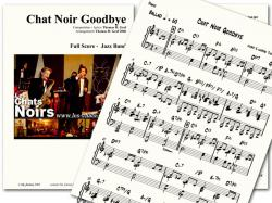 Cover art for Piano part from Chat Noir Opening - Jazz Quartet