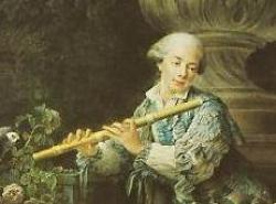 Cover art for Flute part from Call, Leonhard von: Flute Trio in D, Op. 2, no 1
