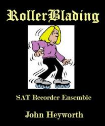 Cover art for Soprano Recorder part from RollerBlading