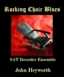 Cover art for Tenor Recorder part from Rocking Chair Blues