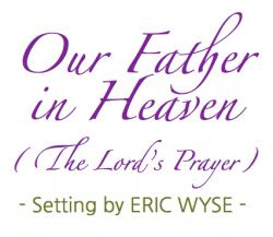 Cover art for Piano part from Our Father in Heaven (The Lord's Prayer)
