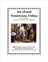 Cover art for We Shout Hosannas Today